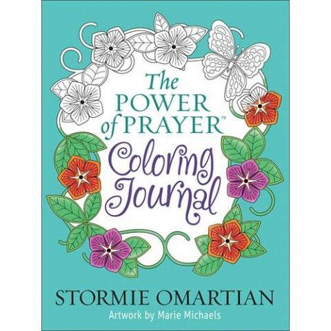 The Power Of Prayer Colouring Journal (Paperback) Stormie Omartian
