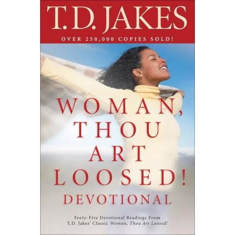 Woman Thou Art Loosed Devotional (Paperback) T D Jakes - New Chapter Bookstore