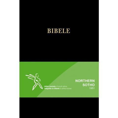 Sepedi Bible (1951/86) Std Black (Hardcover) - New Chapter Bookstore