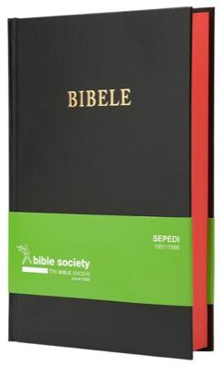 SEPEDI 1951 complete Bible, medium size, black hardcover, red-edged