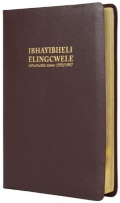 ISIZULU Bible(1959) Burgundy bonded leather, gilt-edged