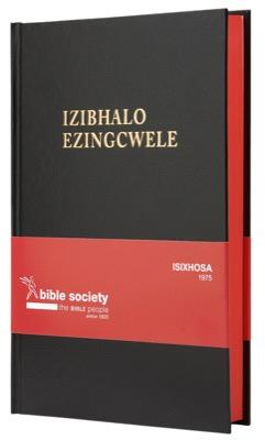 IsiXhosa 1975 Bible, medium size, black, red-edged (Hardcover)