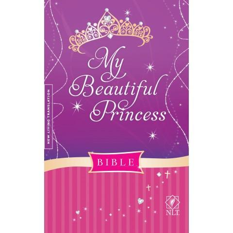 My Beautiful Princess Bible - New Living Translation (Hardcover) Speciality Bible