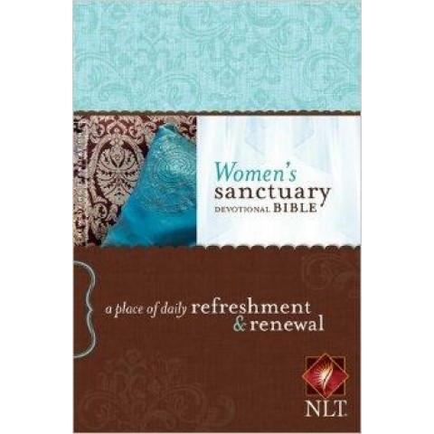 NLT Womens Sanctuary Devotional Bible (Hardcover) Speciality Bible - New Chapter Bookstore