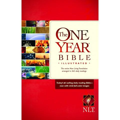 NLT The One Year Bible Illustrated (Paperback) Speciality