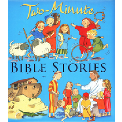 Two-Minute Bible Stories (Paperback) Pasquali/Smee