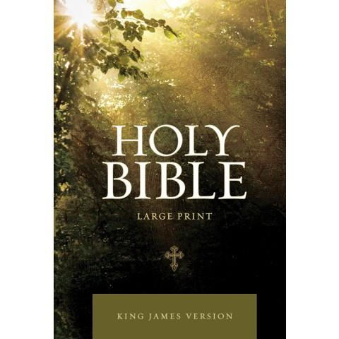 KJV Large Print Edition Tree (Softcover) Large Print Bible - New Chapter Bookstore