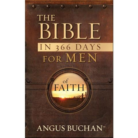 The Bible In 366 Days For Men Of Faith (Softcover With Flaps) Angus Buchan