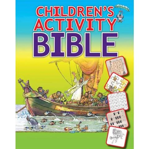 The Children's Activity Bible (Paperback) Leyah Jensen & Isabelle Gao