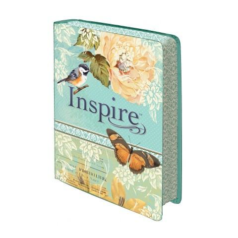 Inspire Blue/Cream (Silky-Soft Printed LuxLeather) Speciality - New Chapter Bookstore