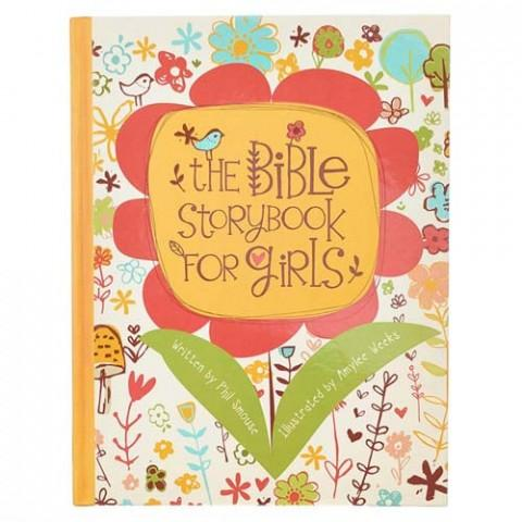 The Bible Storybook For Girls (Hardcover) Phil Smouse