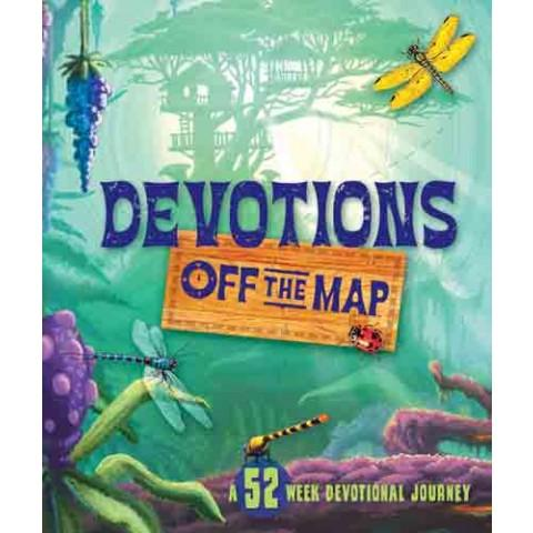 Devotions Off the Map: A 52-Week Devotional Journey(Hardcover) Compilation