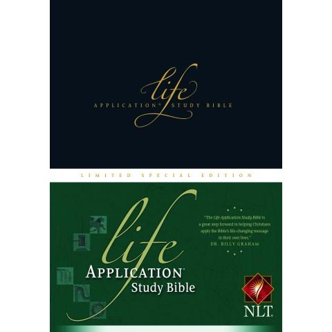 NLT Life Application Study Bible Special Limited Edition (Hardcover)