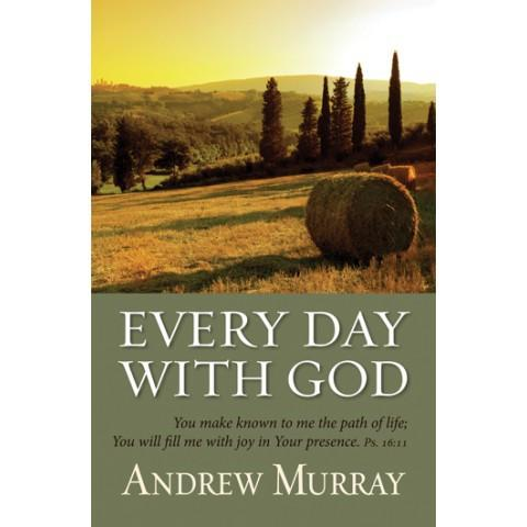 Every Day With God (Softcover) Andrew Murray - New Chapter Bookstore