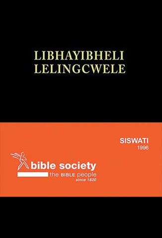 Siswati 1996 complete Bible, standard size, black, red-edged(Hard Cover)