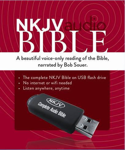 NKJV Audio Bible (USB)