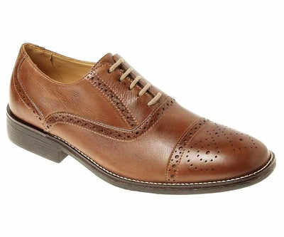 Sandro Moscoloni Barrett Tan Leather Derby - Sandro Moscoloni