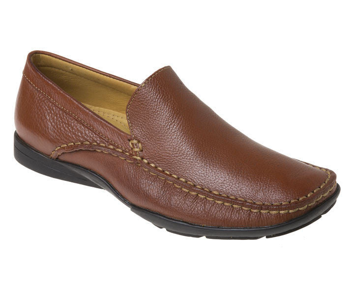 Dillon Tan Leather Loafer