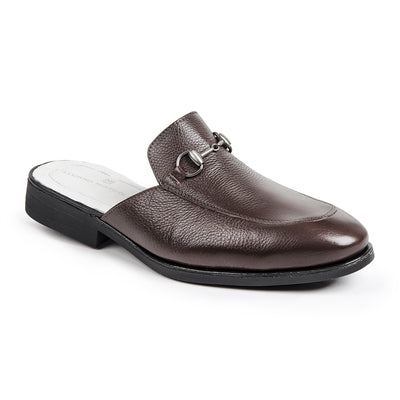 PREMIUM AIDEN DARK BROWN MULE COLLECTION - Sandro Moscoloni