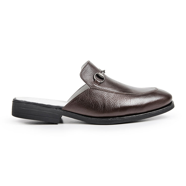 Sandro Moscoloni PREMIUM AIDEN DARK BROWN MULE COLLECTION - Sandro Moscoloni