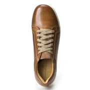 Nico Tan Leather Fashion Sneaker - Sandro Moscoloni
