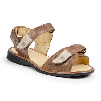 Sandro Moscoloni DAVID LIGHT BROWN SANDAL - Sandro Moscoloni
