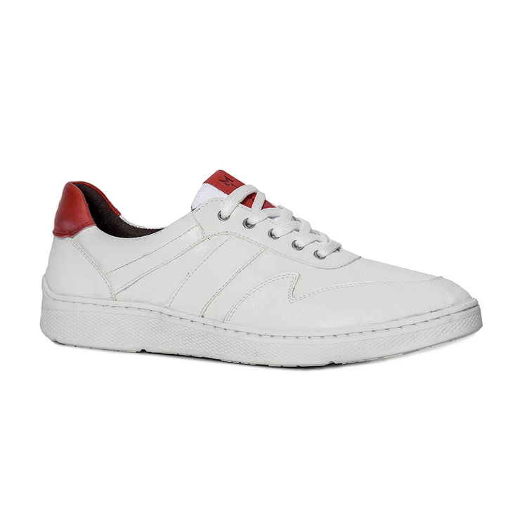 Sandro Moscoloni Mens Casual Sneaker Conway White