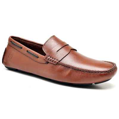 Sandro Moscoloni Classic Tan Driving Shoes