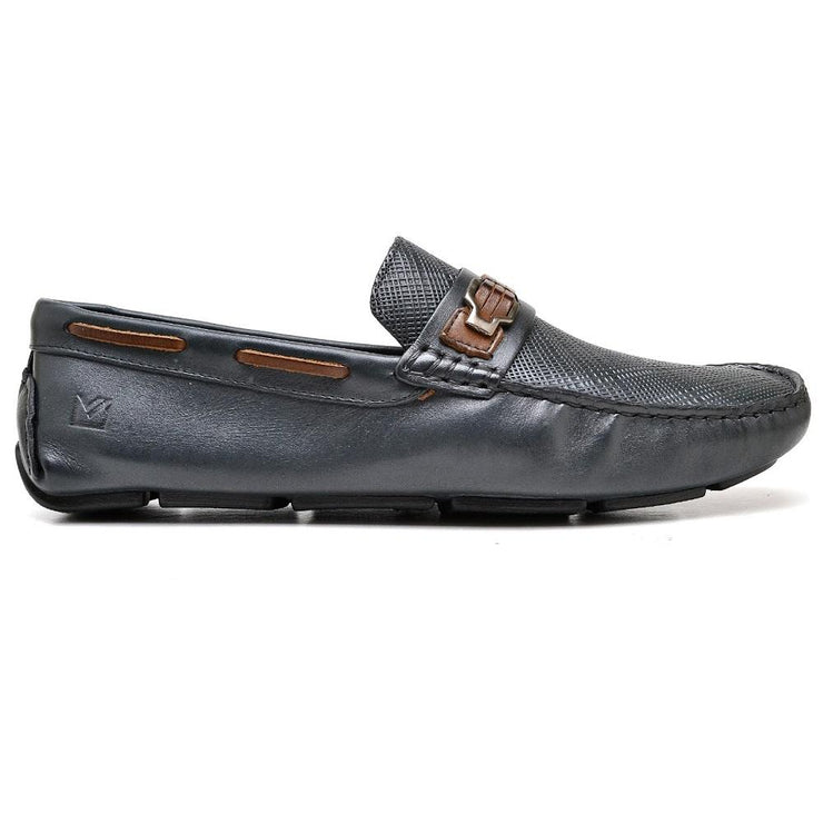 Sandro Moscoloni Madson Navy Driving Shoes