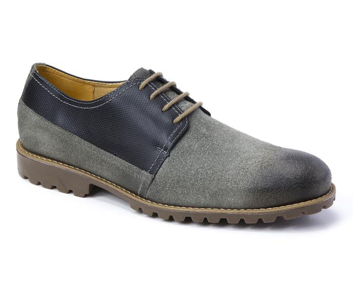 Alexis Derby 4 Eyelet Plain Toe With Lug Rubber Sole - Sandro Moscoloni
