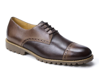 Amado 4 Eyelet Straight Tip With Lug Rubber Sole