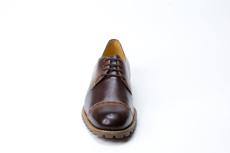 Amado 4 Eyelet Straight Tip With Lug Rubber Sole - Sandro Moscoloni