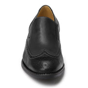 Harris Black wing tip slipon - Sandro Moscoloni