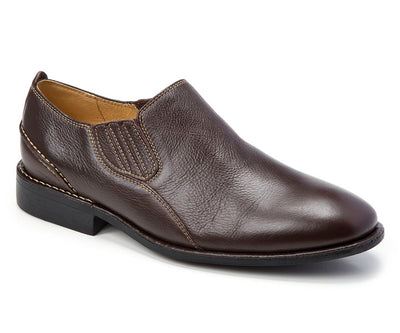 Lonny Brown Plain Toe Loafer - Sandro Moscoloni