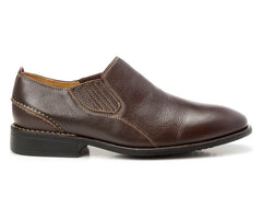 Lonny Brown Plain Toe Loafer