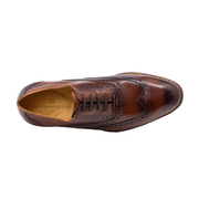 Mercer Brown Oxford Laceup - Sandro Moscoloni
