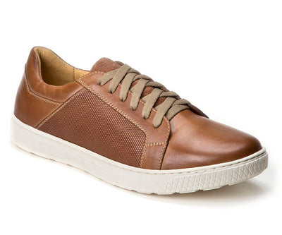 Sandro Moscoloni Nico Tan Leather Fashion Sneaker - Sandro Moscoloni
