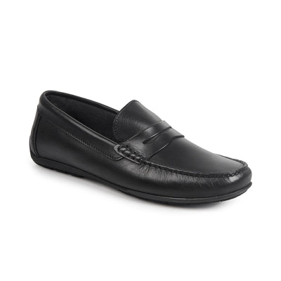 Sandro Moscoloni Paris Spanish Black Penny Loafer