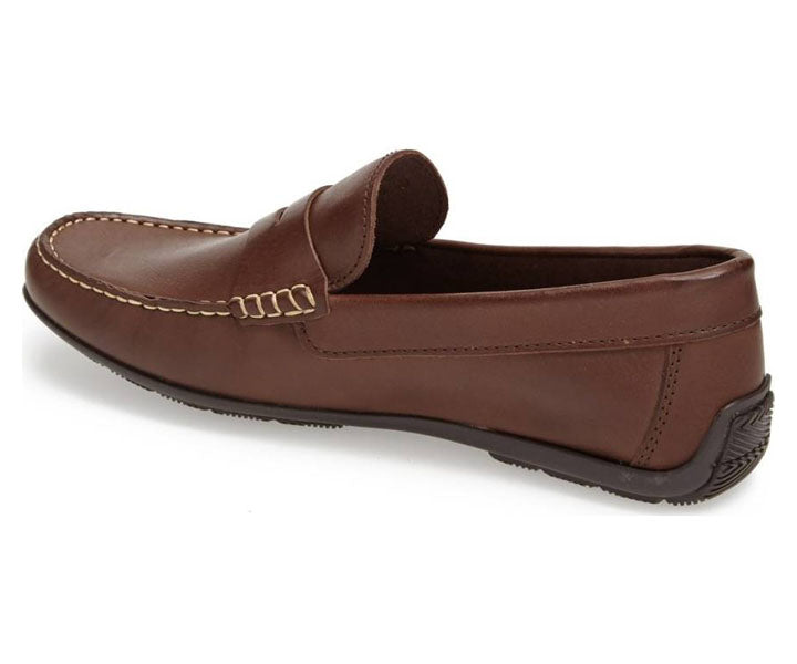 Paris Spanish Brown Penny Loafer - Sandro Moscoloni