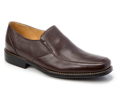 Sandro Moscoloni Renzo Brown Leather Venetian Loafer - Sandro Moscoloni