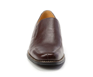 Renzo Brown Leather Venetian Loafer - Sandro Moscoloni