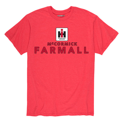IH Square McCormick Farmall - Men's Short Sleeve T-Shirt