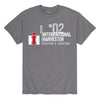 Men's Charcoal International Harvester Center Line Tee
