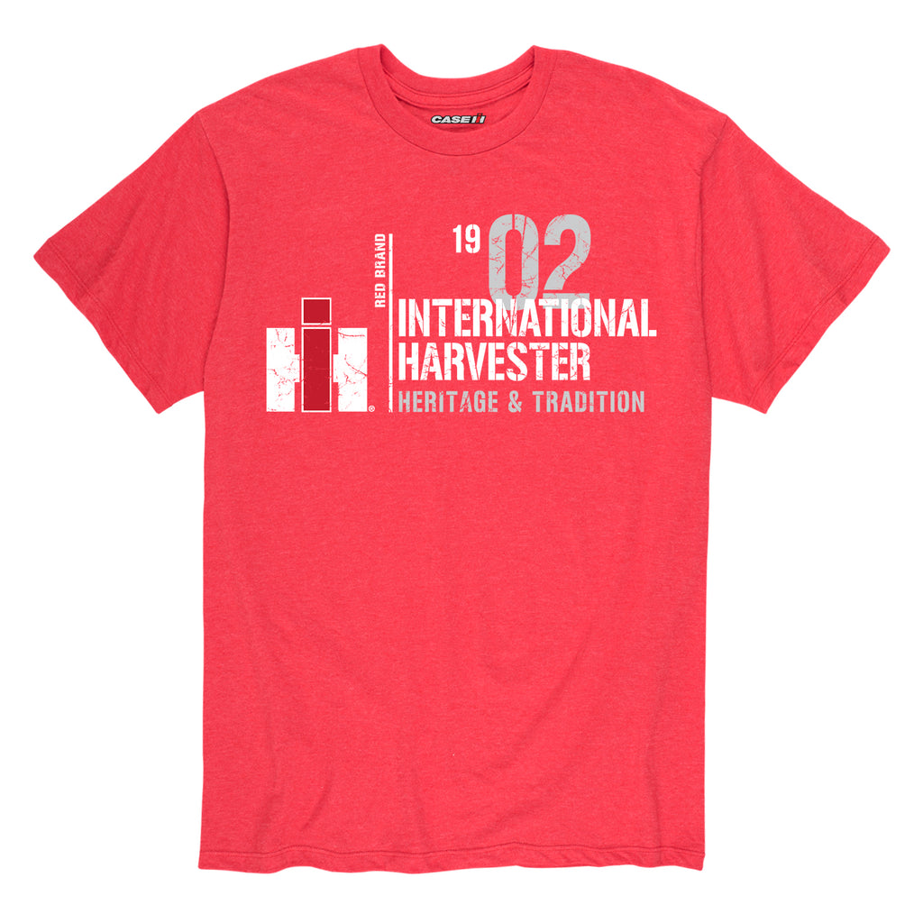 Heather Red IH Center Line Men's Tee