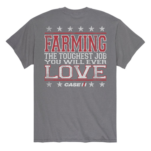 Farming The Toughest Job - Men's Short Sleeve T-Shirt