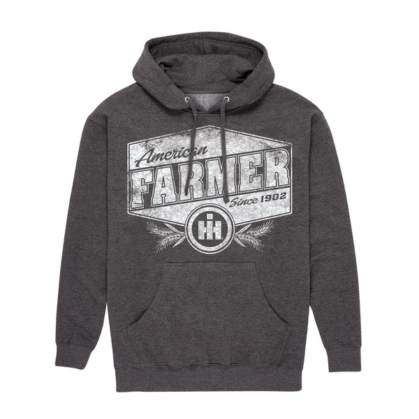 American Farmer Distressed Adult Pullover Hood