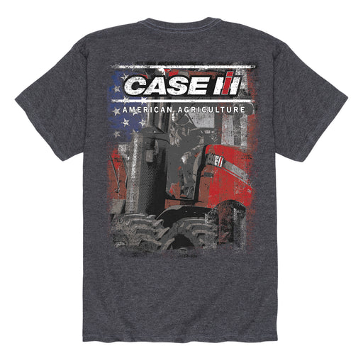 Case IH American Flag - Men's Short Sleeve T-Shirt