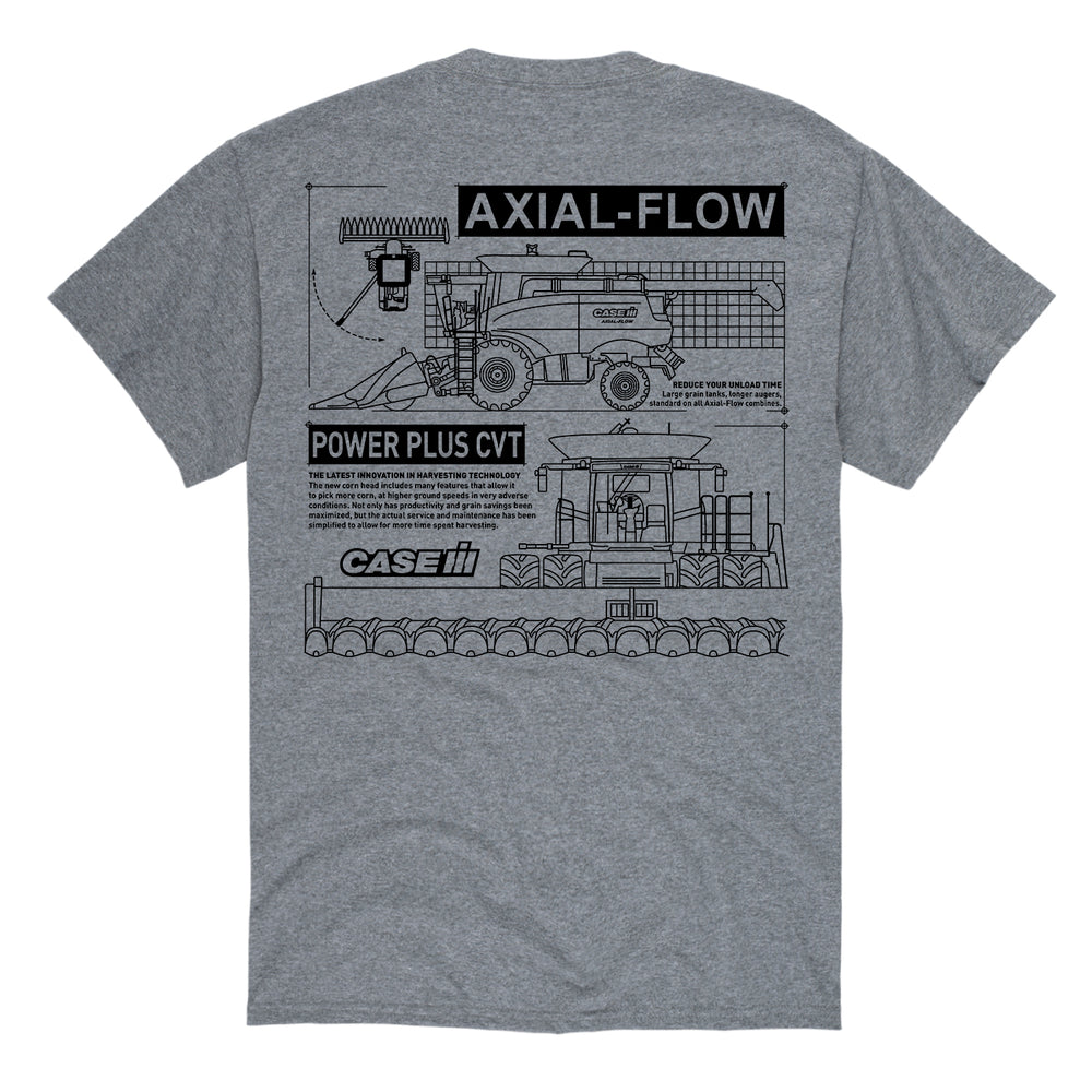 Axial Flow Diagram Men's Tee