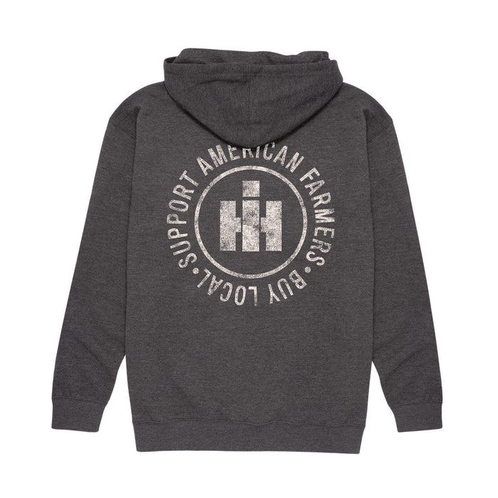 International Harvester™ - Support Your Local Farmers - Men's Pullover Hoodie