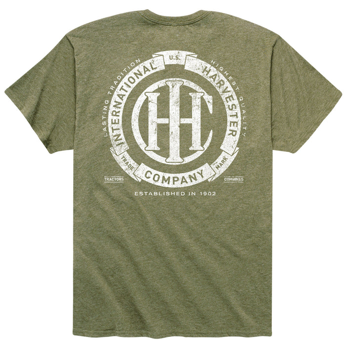 International Harvester™ - IH Circle Banner - Men's Short Sleeve T-Shirt